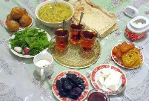 ۱۰ روش لاغری در ماه رمضان