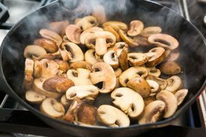 بهترین روش برای پخت قارچ