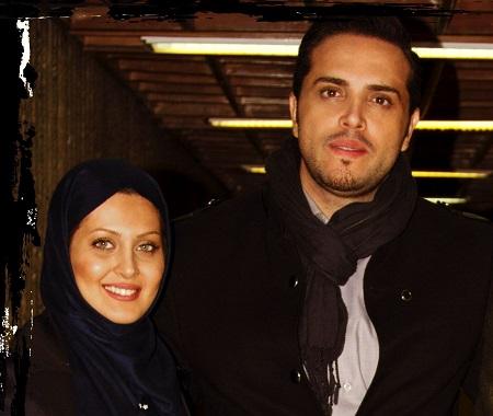 پدرام کریمی و همسرش یاسمن شاه حسینی