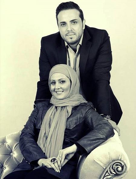 پدرام کریمی و همسرش