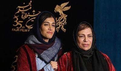 عکس گوهر خیراندیش و دخترش آزاده اسماعیل خانی