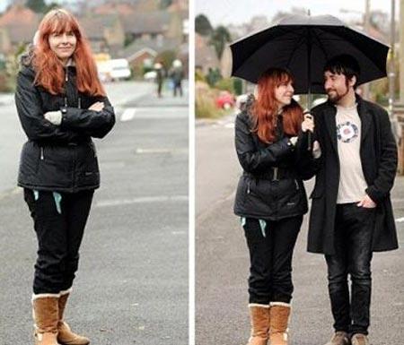 ماجرای عجیب این زن که به باران حساسیت شدید دارد