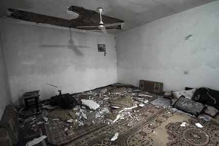 عکس های زلزله خراسان شمالی