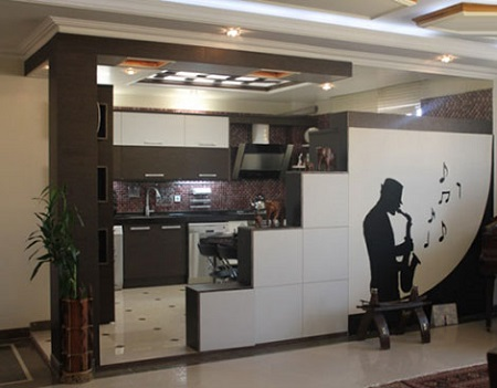 ۱۰ مدل اپن آشپزخانه ایرانی جدید