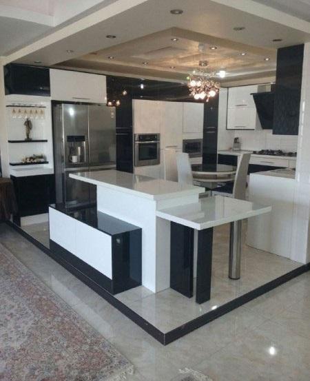 مدل اپن آشپزخانه ایرانی جدید