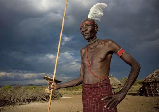 چهره عجیب اعضای قبایل مختلف آفریقایی + عکس