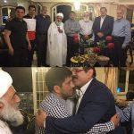 آشتی کنان علیرضا دبیر و عباس جدیدی + عکس