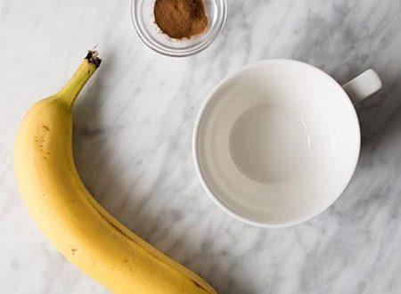 درمان بی خوابی با یک فنجان چای موز+طرز تهیه