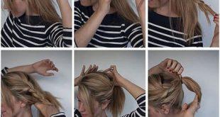 ۳ مدل زیبا و جدید موی دم اسبی
