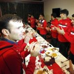بازیکنان پرسپولیس در ضیافت ناهار برانکو + عکس