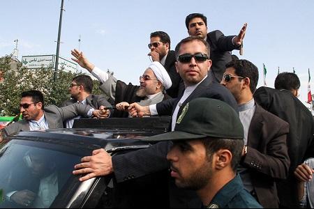 جمله ی ناگفته روحانی در مشهد، گازانبری شد!