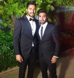 تیپ بازیکنان استقلال در عروسی سید حسین حسینی