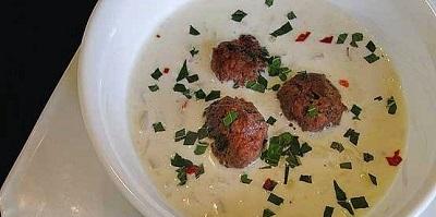 سوپ ماست،غذایی ساده و سریع برای ماه رمضان
