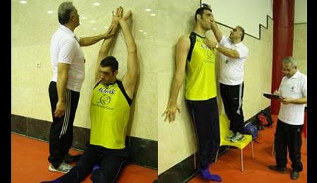 مرتضی مهرزاد،بلندترین مرد ایران