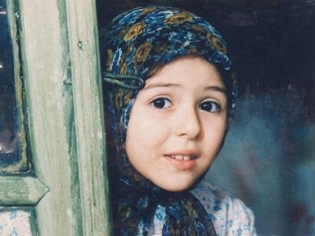 عکس کودکی حنانه شهشهانی