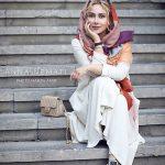 عکس های آنا نعمتی در مراسم رونمایی از کتاب کوروش کبیر