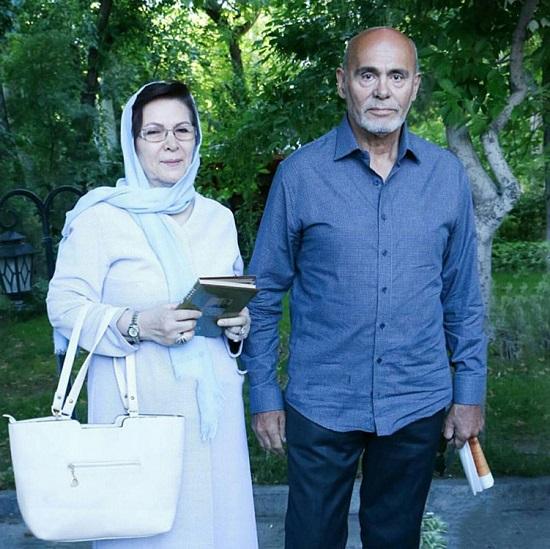 عکس جمشید هاشم پور و همسرش/خرداد ۹۶