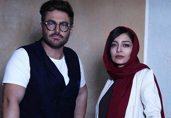 محمدرضا گلزار و ساره بیات که این روزها سریال عاشقانه