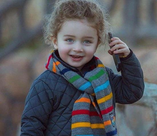 """عکس های """"آریوس"""" زیباترین پسربچه کردستان"""