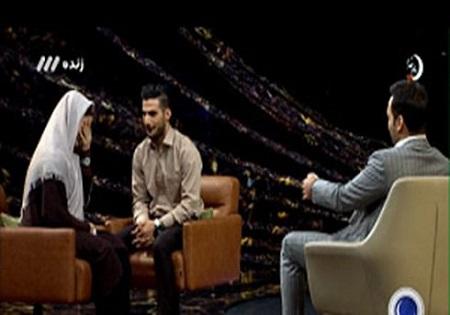 نسترن و محمد در برنامه ماه عسل