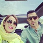 عکس جدید مجتبی میرزاجانپور و همسرش