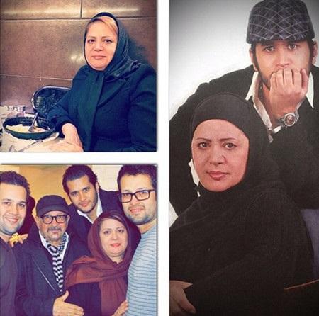 عکس سیاوش خیرابی و خانواده اش
