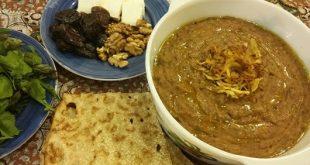 آش گوشت بوشهری،غذایی مقوی و خوشمزه برای افطار