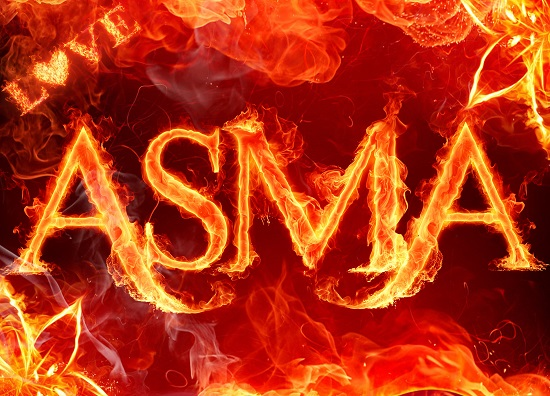 asma, اسم اسما آتشین