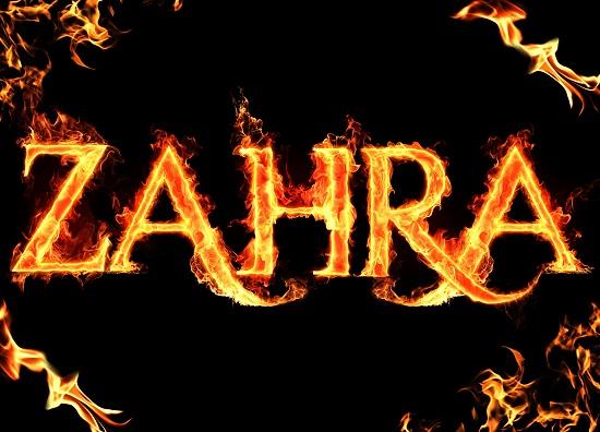 zahra آتشین برای پروفایل