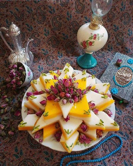 طرز تهیه تر حلوا شیرازی