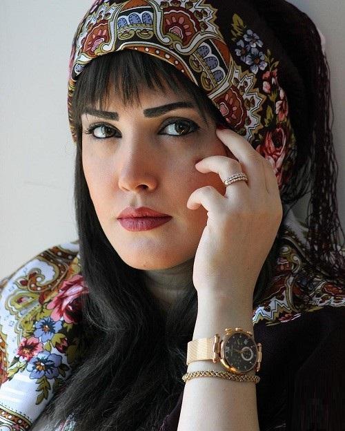 عکس الناز حبیبی همسر یغما گلرویی