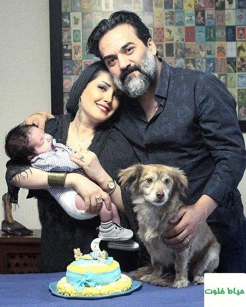 یغما گلرویی تولد همسرش آتنا حبیبی را تبریک گفت+عکس