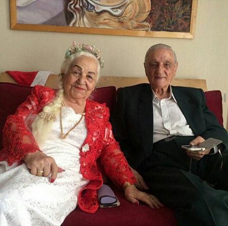 عکس فرنگیس و محمد مهمان های ماه عسل