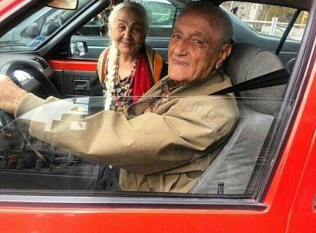 عکس فرنگیس و محمد مهمان های دیشب ماه عسل