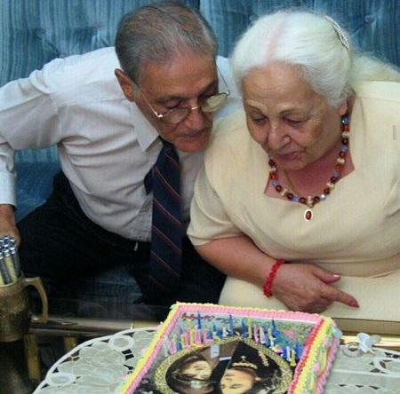 پیر مرد و پیر زن عاشق در برنامه ماه عسل