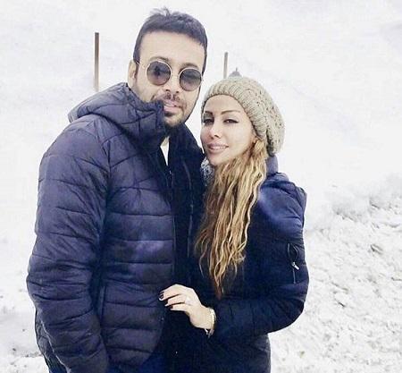 عکس محسن چاووشی و همسرش