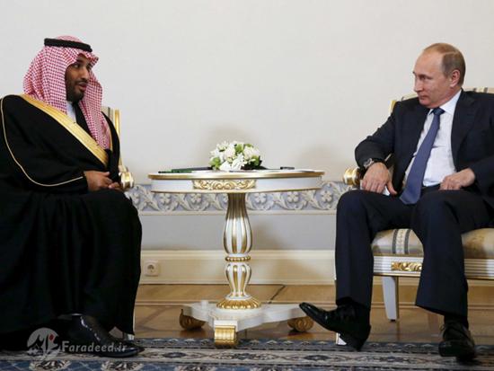دیدار ولیعهد جدید عربستانمحمد بن سلمان با ولادیمیر پوتین
