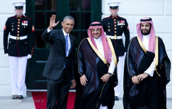 دیدار ولیعهد جدید عربستانمحمد بن سلمان با ترامپ و اوباما