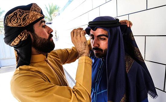 تصاویر جالب جشن و پایکوبی اعراب خوزستان به مناسبت عید فطر