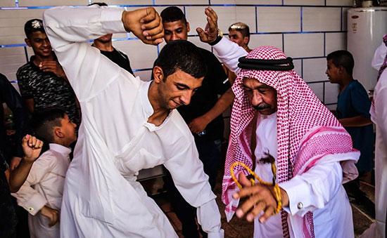 تصاویر جشن اعراب خوزستان به مناسبت عید فطر
