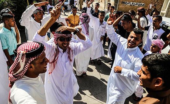 اعراب خوزستان در جشن عید فطر