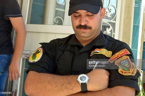 غنیمت عجیب سرباز عراقی از یک داعشی