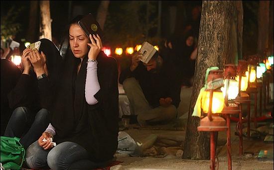 تصاویر مراسم شب های قدر ماه رمضان