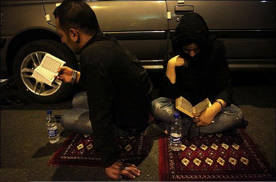 عکسهای متفاوت مراسم شب قدر ماه رمضان