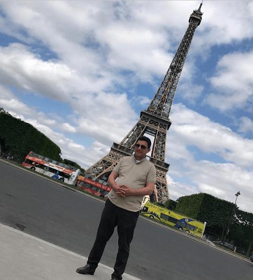 عکس/ امیر قلعه نوعی در سفر به پاریس