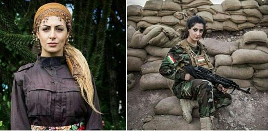 داعش برای سر این دختر ایرانی یک میلیون دلار جایزه تعیین کرد