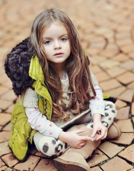 عکس های دیدنی و جذاب مشهور ترین مانکن 5 ساله با ظاهری معصوم