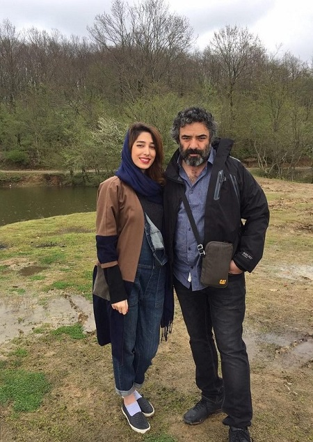 عکس حسن معجونی و دخترش
