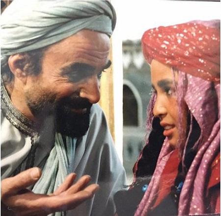 مهراوه شریفی نیا در نقش کودکی قطام