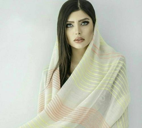 نیلوفر بهبودی مدل و مانکن زیبای ایرانی